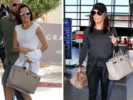 Just Can't Get Enough: Eva Longoria and Her Hermès Birkin