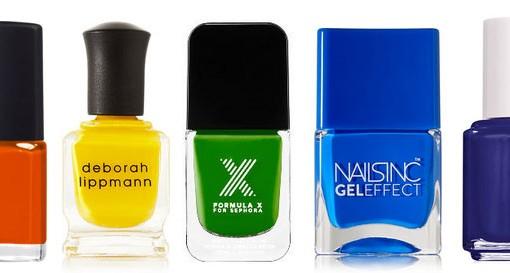 PurseBlog Beauty: A Rainbow of Summer Nail Colors