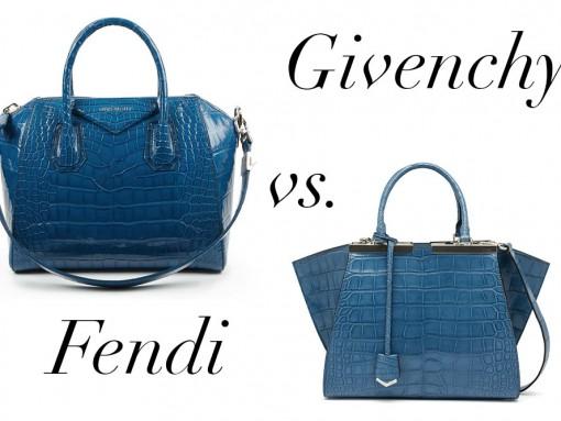 Bag Battles: Givenchy Alligator vs. Fendi Alligator