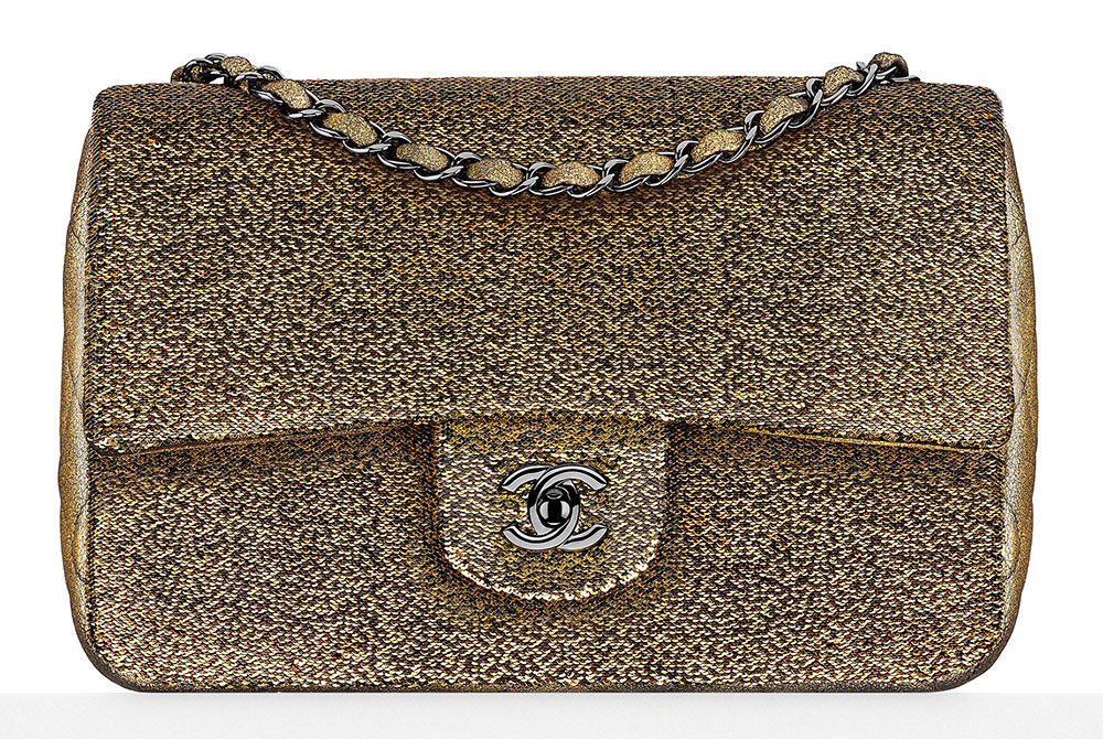 Chanel-Goatskin-Sequin-Flap-Bag-5500-gold