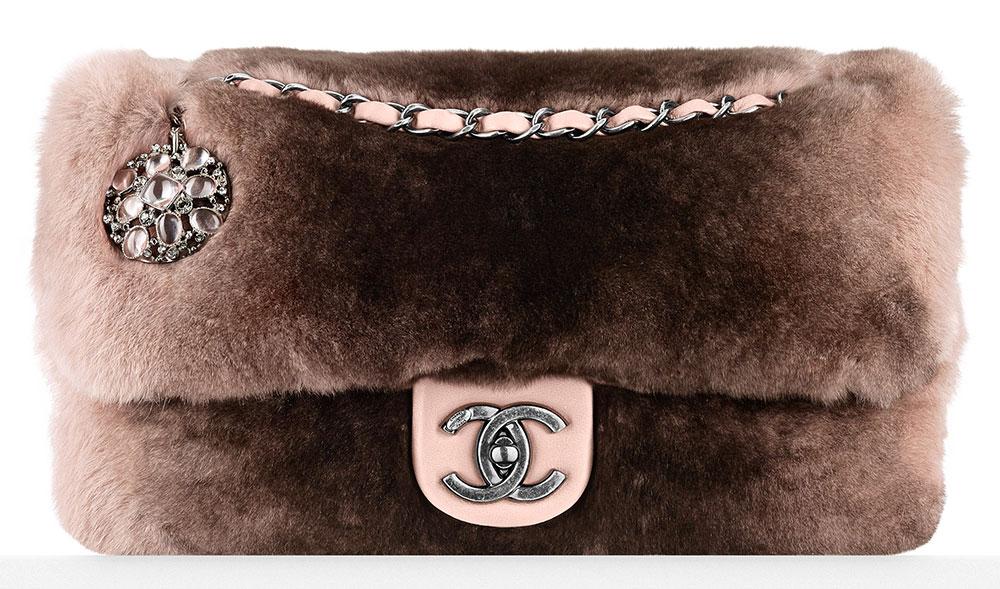 Chanel-Orylag-Fur-Flap-Bag-With-Brooch-5100