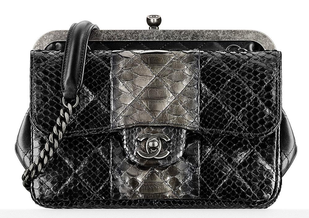 Chanel-Python-and-Leather-Frame-Bag-5700