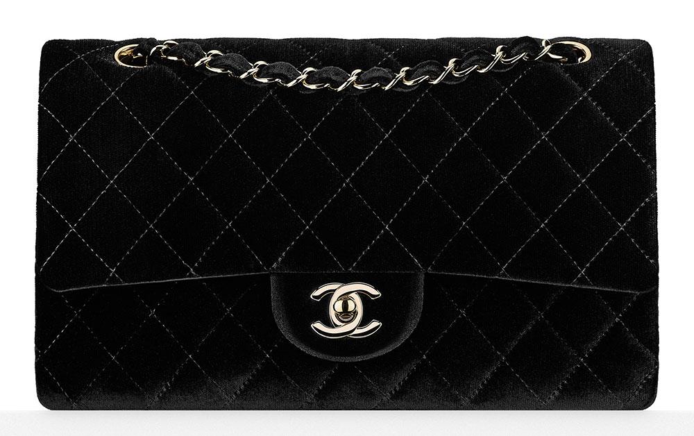 Chanel-Velvet-Classic-Flap-Bag-3700-Black