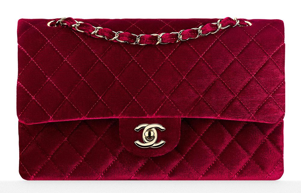 Chanel-Velvet-Classic-Flap-Bag-3700-Burgundy