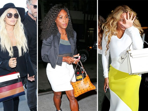 A Certain New Valentino Bag is Hot This Week, Plus More Celeb Bag Picks