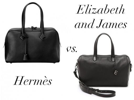 Bag Battles: The Hermès Victoria II Bag vs. The Elizabeth and James Scott Duffel Bag