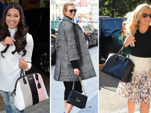 Celebs Chose Bags from Givenchy, Dior & Armani Last Week