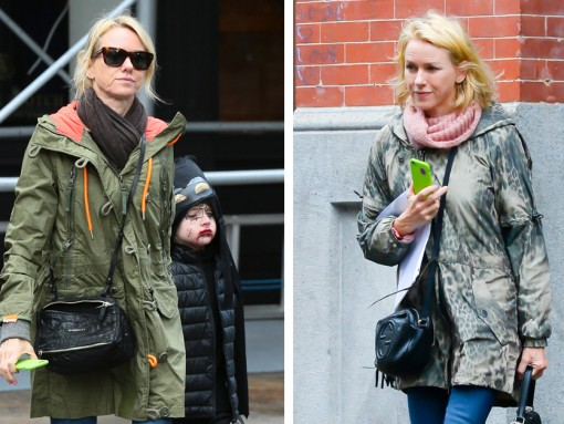 Just Can't Get Enough: Naomi Watts and Her Little Black Crossbodies from Gucci and Givenchy