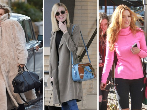 Some of Our Most Prolific Celebrity Handbag Collectors Shop Their Way Into 2016