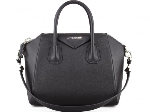 Givenchy Antigona Small Sugar Goatskin Satchel Bag