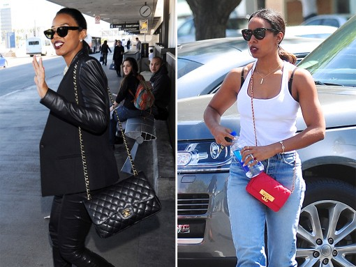 Kelly Rowland Shows Remarkable Commitment, Has Carried Nothing but These Two Chanel Bags Since 2013