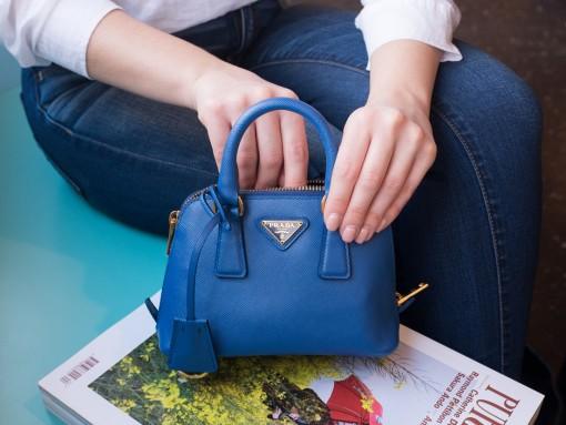Prada Mini Saffiano Promenade Bag