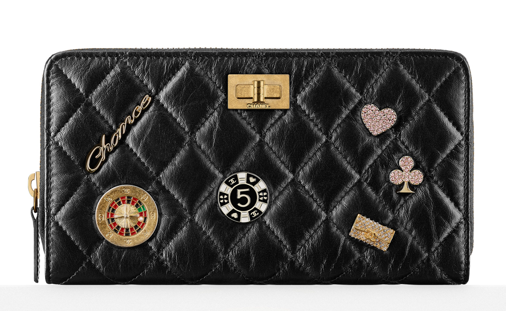 Chanel-Charms-Zip-Wallet