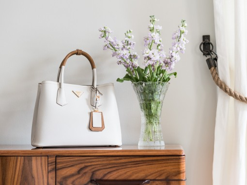 A Close Look at the Prada Bicolor Double Bag