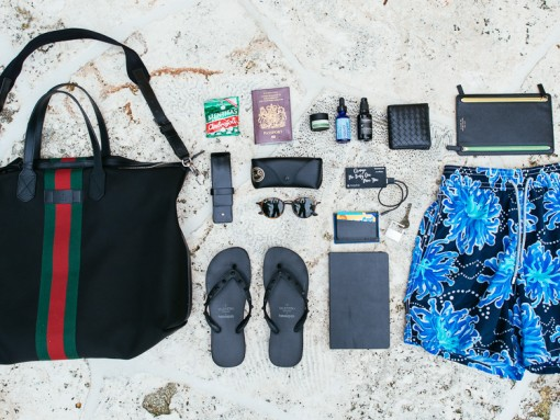What's In His Travel Bag: Andres Sosa of the Outnet