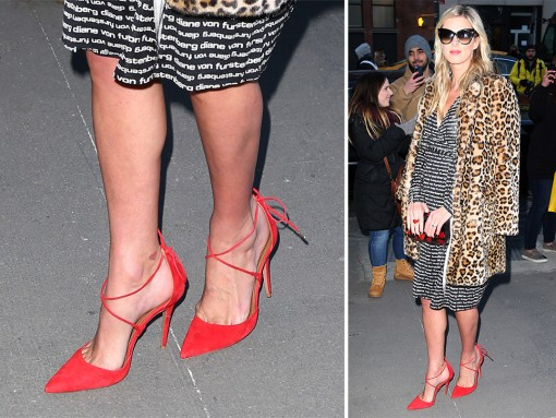 Swimsuit Issue All-Stars and NYFW Celebs Provide Us with the Week's Best Pumps, Heels, & Boots