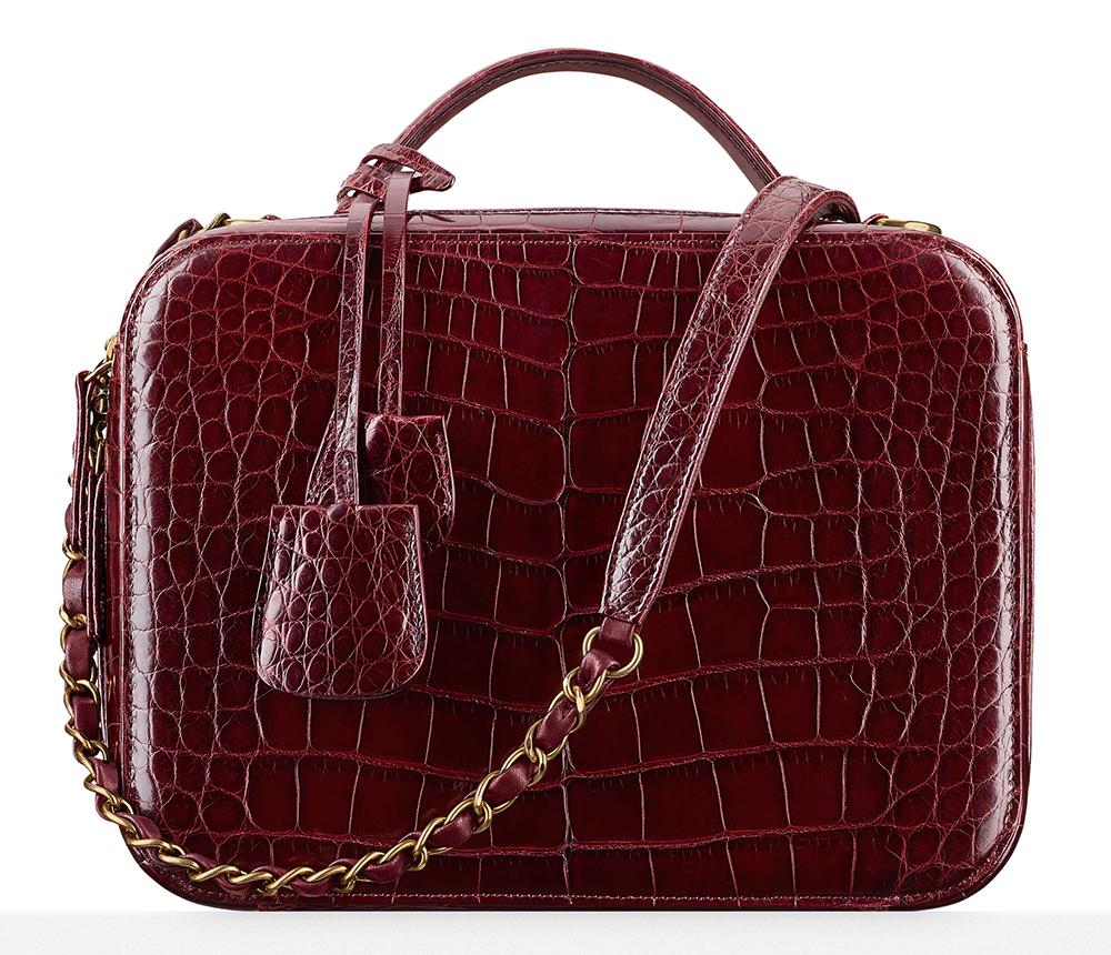 Chanel-Alligator-Vanity-Case