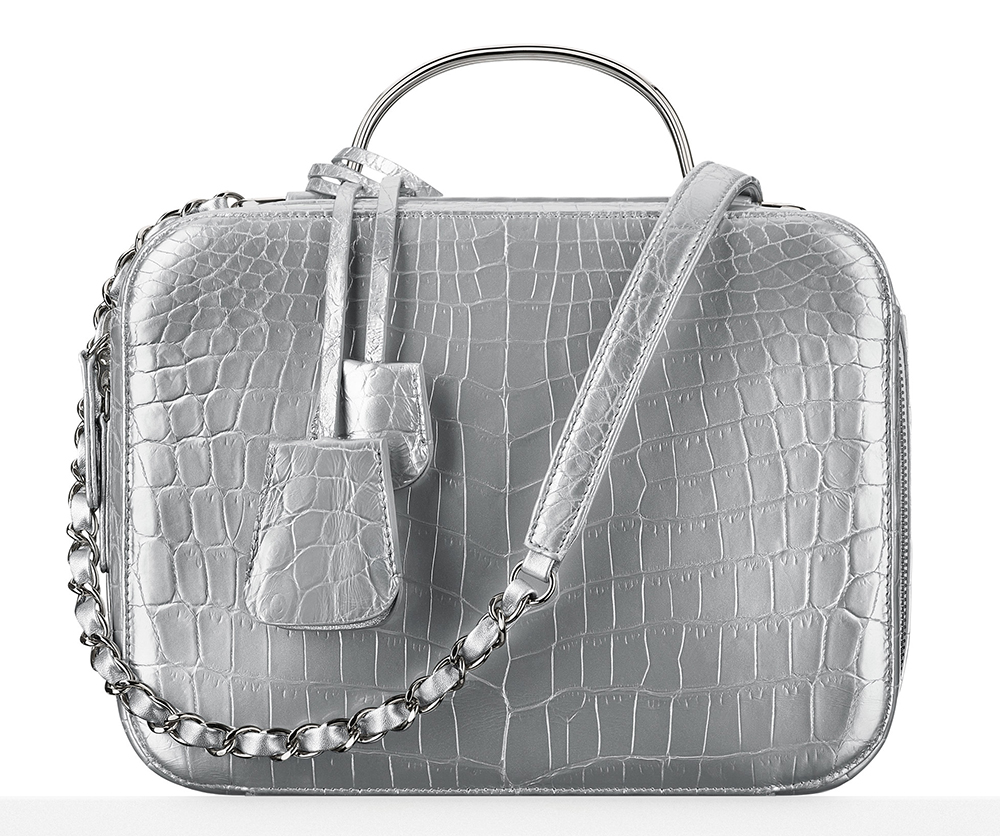 Chanel-Metallic-Alligator-Vanity-Case