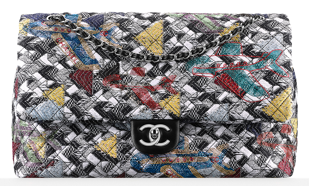 Chanel-Tweed-and-Strass-Flap-Bag