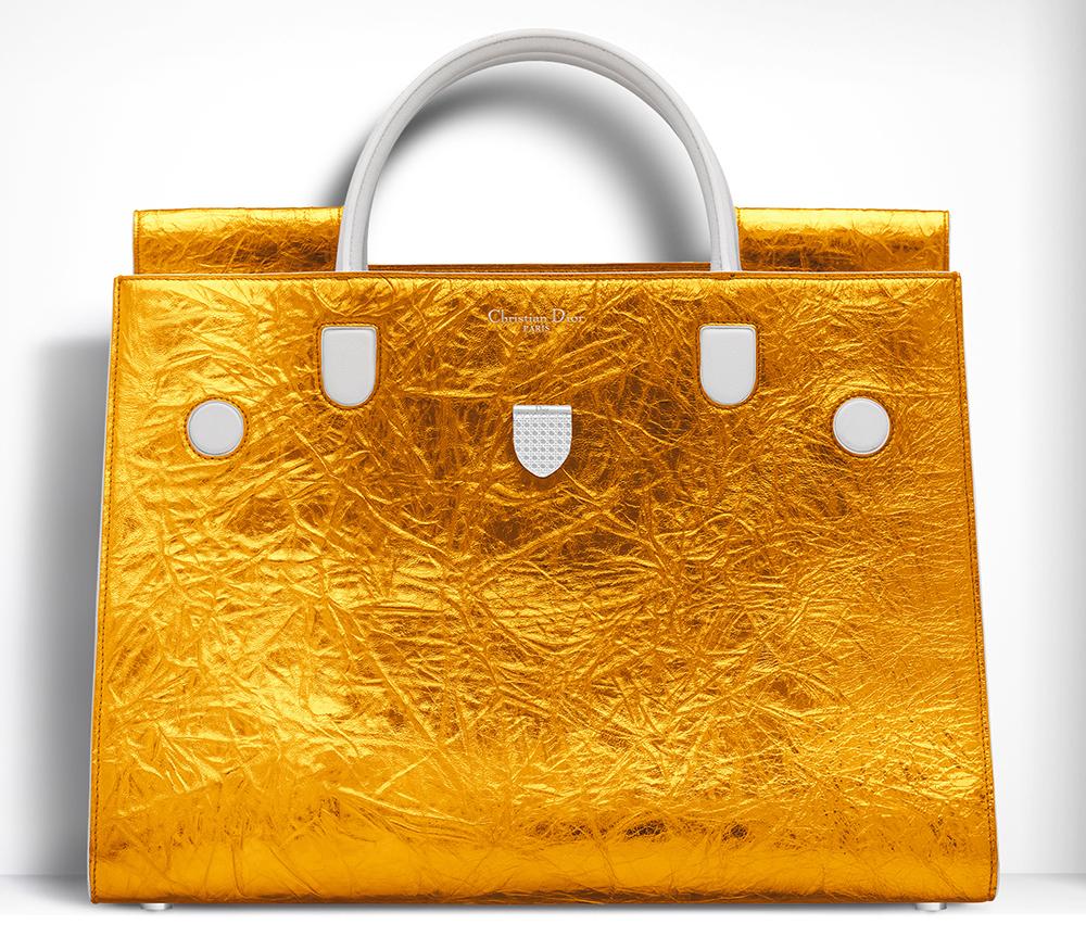 Christian-Dior-Large-Diorever-Bag-Metallic