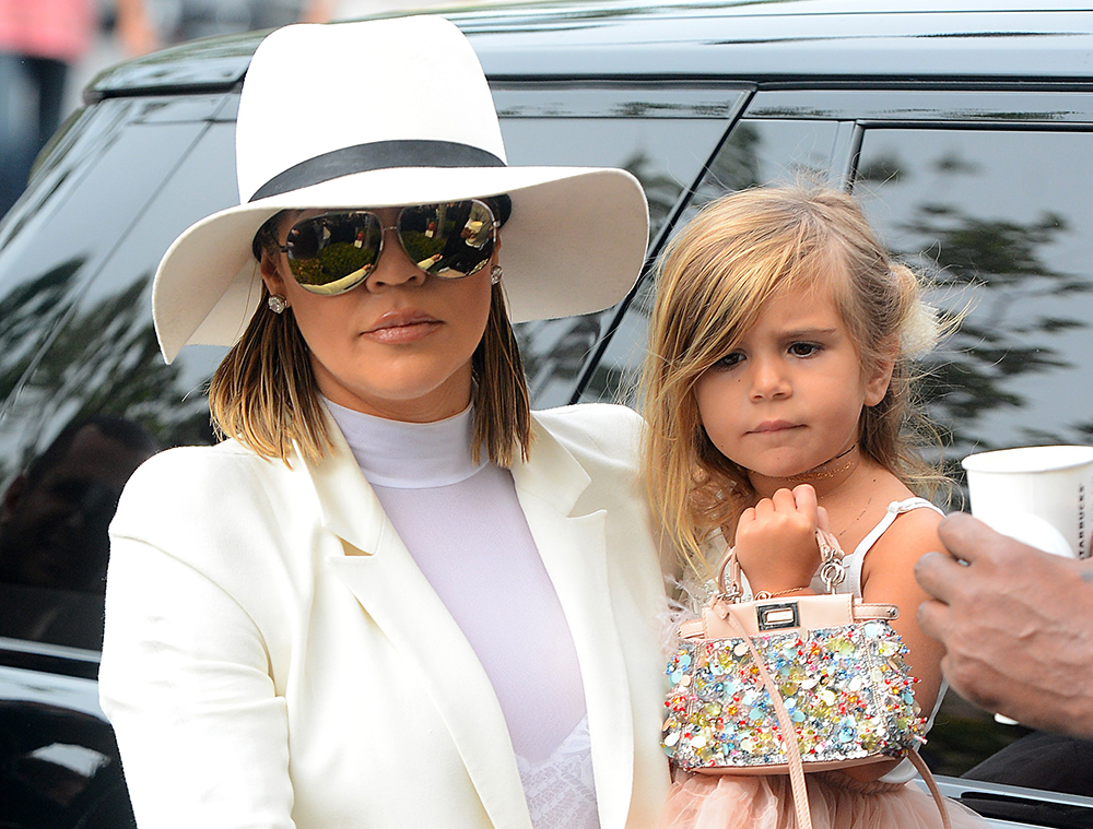 Kourtney Kardashian's 3-Year-Old Daughter Carried a $3,450 Fendi Bag to Easter Services