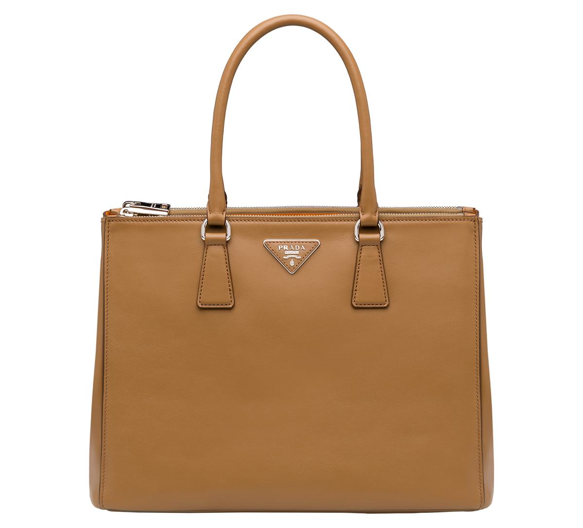 Prada Galleria Bag in Caramel