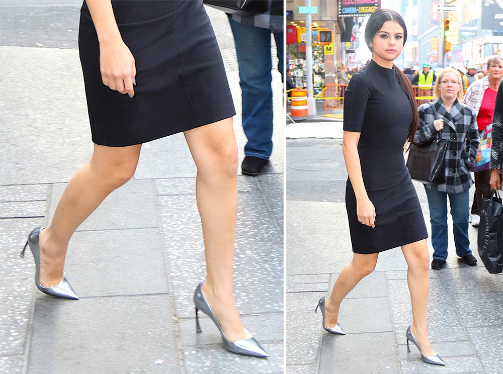 Selena-Gomez-Dior-Metallic-Pumps