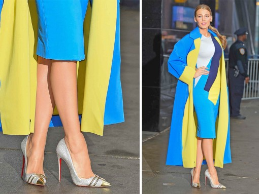 No One is as Dedicated to Christian Louboutin Pumps as Blake Lively Is