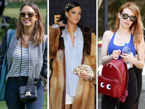 A Double Dose of Rihanna and More Celebrity Handbag Selections, Coming Right Up