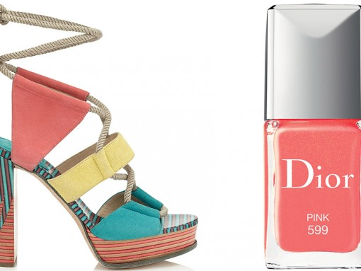Get Ready for Sandal Season With This Season's Best Sandals and Coordinating Nail Polishes