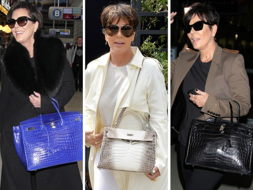 We Did the Math: Here's What Kris Jenner's Hermès Collection is Worth