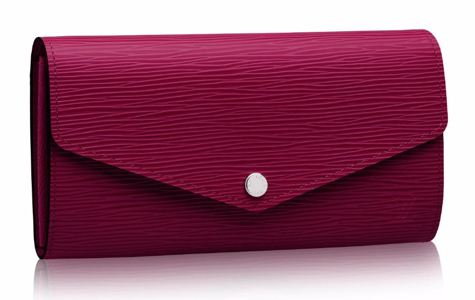 Louis-Vuitton-Epi-Leather-Sarah-Wallet