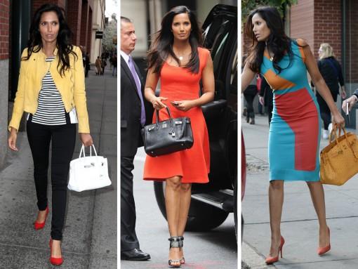 Just Can't Get Enough: Padma Lakshmi and Her Hermès Birkins