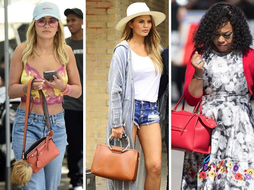 This Week, Celeb Favor Has Turned to Red Bags, Tweed Bags & Nearly Vintage Bags