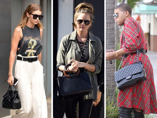 Celebs Continue to Cling to Their Favorite Styles from The Row, Céline, Versace and More