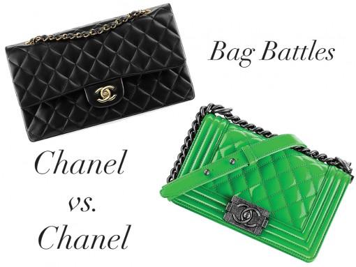 Bag Battles: The Chanel Classic Flap Bag vs. The Chanel Boy Bag