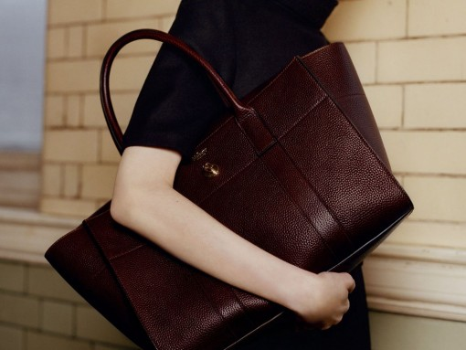 Mulberry Debuts the Redesigned Bayswater Bag