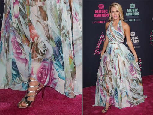 When Faced with a Red Carpet or Press Appearance, Actresses and Singers Love Their Jimmy Choo Shoes