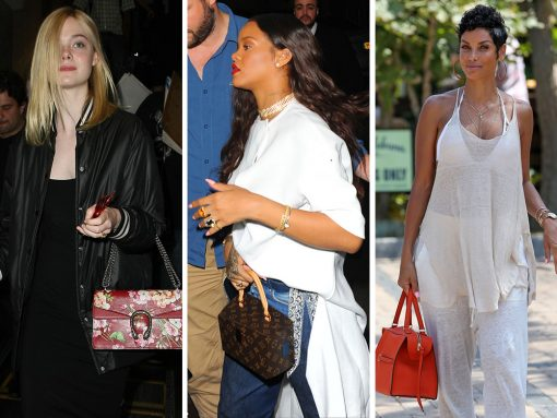 This Week, Celebrities Have Strong Feelings About Red Handbags (and, You Know, Probably Some Other Stuff)