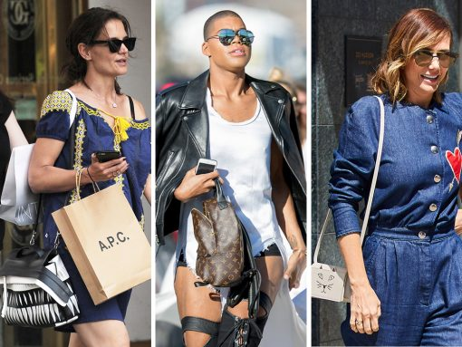 Celebs Do Their Best to Get By with an Assist from Chloé, Moschino, Chanel and More