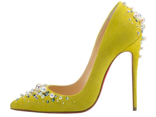 Check Out Christian Louboutin's Beautifully Embellished Fall 2016 Shoes and Bags