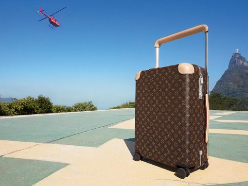 Louis Vuitton's Super Popular Rolling Luggage Just Got a Whole New Look