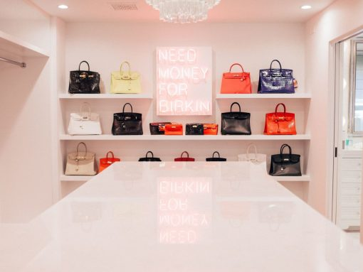 Kris Jenner Has A Closet Just for Her Hermès Collection