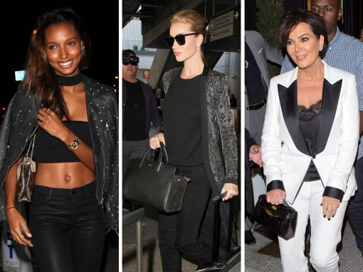 Celebs Display a Diverse Range of Designer Bags at Catch, LAX and the Cineplex