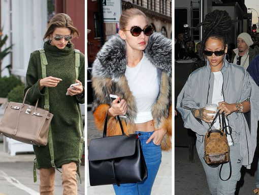 Celebs Mix It Up with Bags from Mansur Gavriel, Mulberry, & Mark Cross