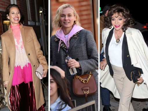 Celebs Attend Pre-Fall Parties and Dinner at Craig's with Bags from Valentino, Miu Miu and Bulgari