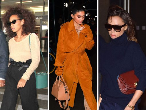 This Week, Celebs Carrying Shapely Bags from Victoria Beckham, Givenchy and Miu Miu
