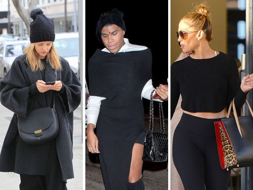 Celebs Carry On with Carry-Ons (and Other Bags) from Louis Vuitton, Louboutin, & Chanel