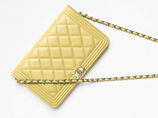 Check out 75 Pics + Prices for Chanel's Pre-Collection Spring 2017 Wallets, WOCs and Accessories