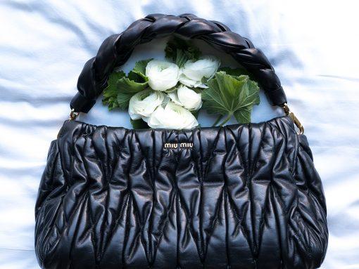 Rediscovering Matelessé with Miu Miu's 'Miu Mega' Bag